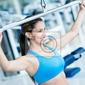 Fototapeta kobieta na siłowni