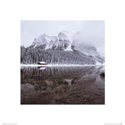Jezioro louise - reprodukcja