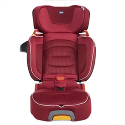 Chicco foldgo red passion fotelik 15-36kg i-size + organizer