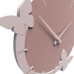 Zegar ścienny flight of the butterflies calleadesign biały 50-10-3-1