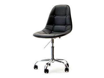 Krzesło obrotowe czarne tunis ll ekoskóra