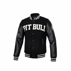 Kurtka zimowa Pit Bull West Coast Varsity Jacket Melton Wilson Black - 687