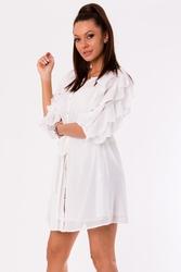 Sukienka -biały 48026-3