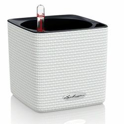 Lechuza - donica cube color 14 - biała - biały