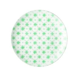Guzzini - tiffany - talerz deserowy le maioliche, zielony - zielony