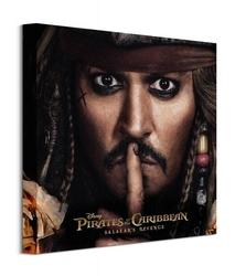 Pirates of the caribbean can you keep a secret - obraz na płótnie
