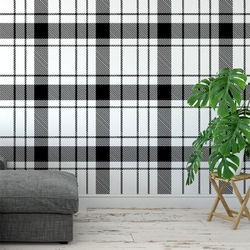 Tapeta na ścianę - classic checker , rodzaj - tapeta flizelinowa
