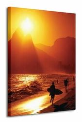 Ipanema Beach Rio de Janeiro - Obraz na płótnie