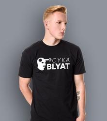 Cs - cyka blyat t-shirt męski czarny l