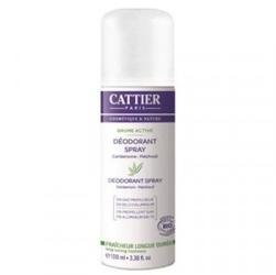 Dezodorant w sprayu paczuli  kardamon bio 100 ml cattier