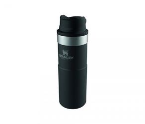 Kubek termiczny stanley 470 ml trigger action travel mug czarny