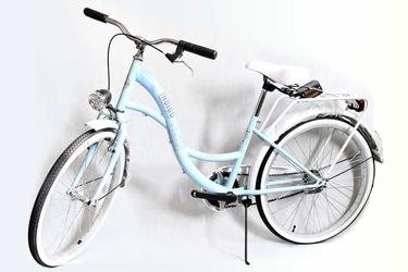 Rower vintage 24 lux - niebieski