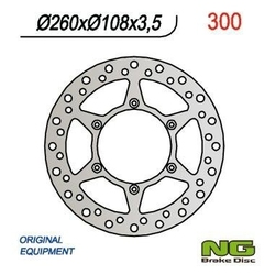 Ng300 tarcza hamulcowa gas gas 125 94-99 260x108x3,5