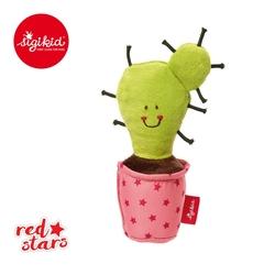 Mini piszczałka sigikid red stars - różowy kaktus