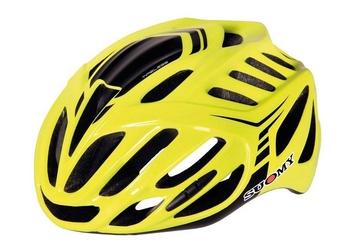 Kask rowerowy suomy timeless yellow
