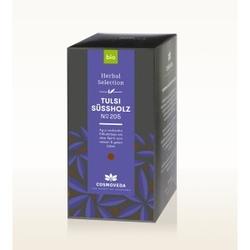 Bio herbata tulsi  lukrecja 20 saszetek x 1,8g cosmoveda