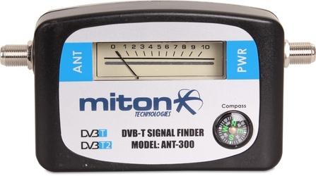 Miernik wskaźnik sygnału anteny naziemnej tv dvb-t2 - szybka dostawa lub możliwość odbioru w 39 miastach