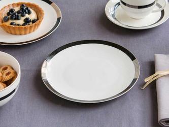 Talerz deserowy porcelanowy altom design bella chic 20 cm