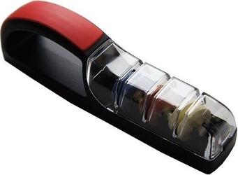 Ostrzałka wodna ceramiczna minosharp plus3 czarno-czerwona