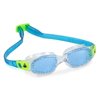 Aquasphere okulary kameleon kid ciemne szkła ep135114 transparent-light green