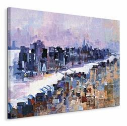New York, Manhattan Island - Obraz na płótnie