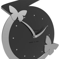 Zegar ścienny butterfly calleadesign oliwkowy-zielony 50-10-1-54