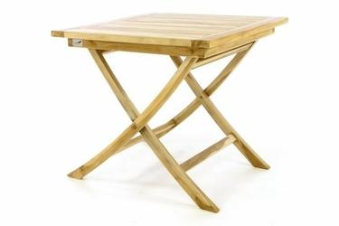 Stół ogrodowy składany 80 x80 cm, divero