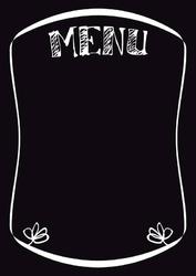 Tablica magnetyczna kredowa menu 4