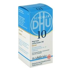 Biochemie dhu 10 natrium sulfur.d 6 karto w tabletkach