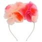 Opaska meri meri - różowy bukiet kwiatów