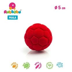 Mini piłka sensoryczna futbolowa - czerwona