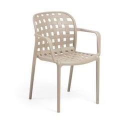 Krzesło ogrodowe ota beżowe