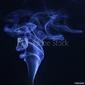 Naklejka samoprzylepna dym 1