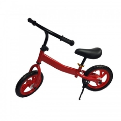 Rowerek biegowy dzieci rower 12 eva ultralekki czerwony