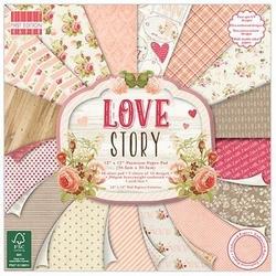 Papier 30,5x30,5 cm- Love Story