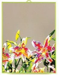 Lustro seletti wears toiletpaper duże flowers with holes