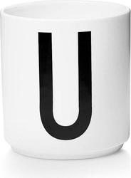 Kubek porcelanowy aj litera u