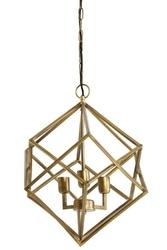 Lampa wisząca drizella złota