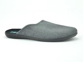 Pantofle pełne męskie adanex 24623 szary