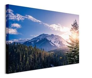 Banff, canada - obraz na płótnie