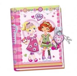 Ręcznie robiony pamiętnik przyjaciółki na zawsze