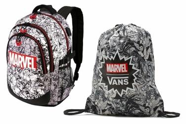 Plecak Szkolny Marvel Heroes + Worek Vans Marvel - VN0A3RCLBLK - VN000ONIHU0 006