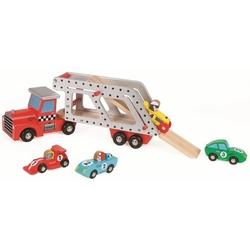 Laweta pojazd z samochodzikami