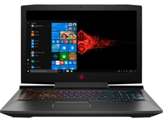 NOTEBOOK OMEN by HP 17-an119nw 17.3 FHDi7-8750H16GBSSD1TB+1TBHDDGTX1060