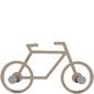 Wieszak ścienny Bike CalleaDesign caffelatte 13-008-14