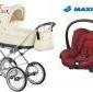 Wózek roan marita prestigeprestige delux 3w1 fotel maxi cosi citi new