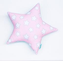 Poduszka ozdobna Pink and Mint Stars