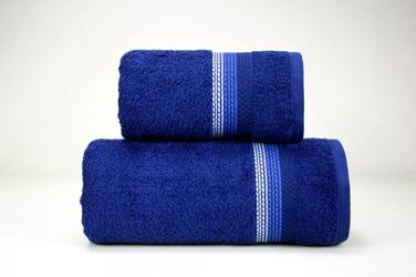 OMBRE GRANATOWY ręcznik bawełniany FROTEX - granatowy