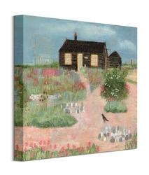 Summer cottage - obraz na płótnie