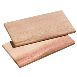 Kuchenprofi - smoky - deski do grillowania, 2 szt, 40,00 cm - 40,00 cm